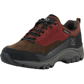 Haglöfs Skuta Low Proof Eco Schoenen Dames, maroon red/barque
